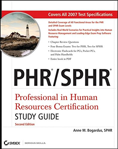 9780470050682: PHR / SPHR Professional in Human Resources Certification Study Guide