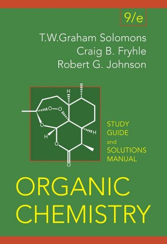 9780470050989 organic chemistry student study guide and solutions rh abebooks com organic chemistry solomons 11e solutions manual organic chemistry 9th edition solomons solution manual pdf