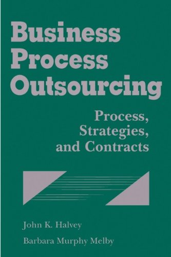 9780470052037: Business Process Outsourcing: Process, Strategies, and Contracts (with disk)