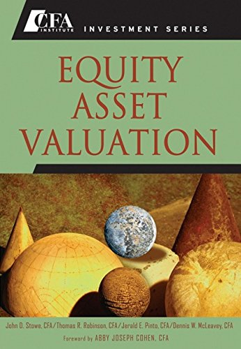 9780470052822: Equity Asset Valuation (CFA Institute Investment Series)