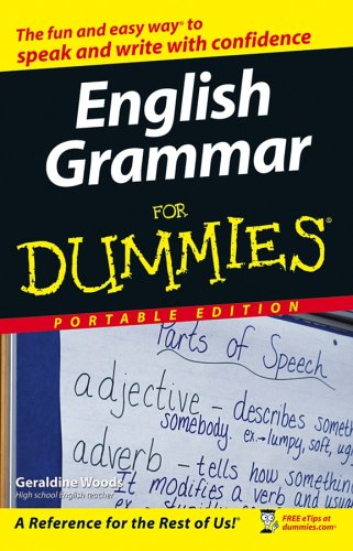 English Grammar for Dummies: woods, geraldine
