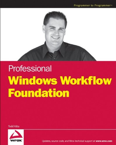 9780470053867: Professional Windows Workflow Foundation