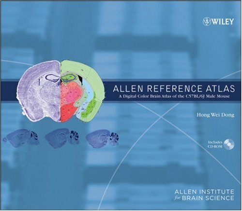 9780470054086: The Allen Reference Atlas, (Book + CD-ROM): A Digital Color Brain Atlas of the C57BL/6J Male Mouse