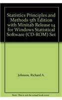 9780470054109: Statistics Principles and Methods 5th Edition with Minitab Release 14 for Windows Statistical Software (CD-ROM) Set