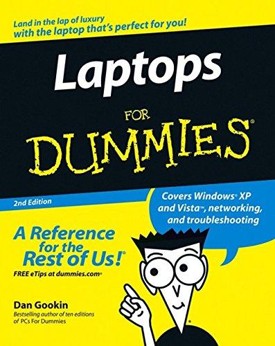 9780470054321: Laptops For Dummies
