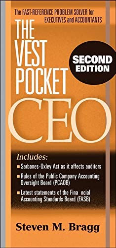 9780470054512: The Vest Pocket CEO