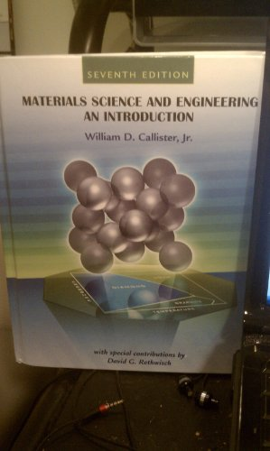 9780470054888: Materials Science and Engineering: AND Wiley Plus: An Introduction