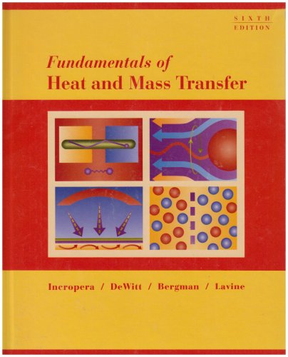 9780470055540: Fundamentals of Heat and Mass Transfer