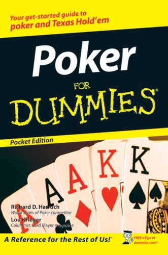 9780470055656: Poker For Dummies Pocket Edition (Pocket Editions)