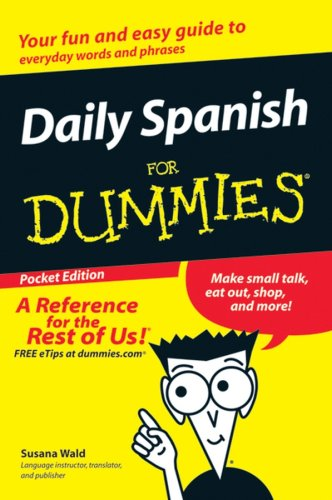 9780470055687: Daily Spanish for Dummies Pocket Edition
