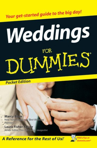 9780470055717: Weddings for Dummies (For Dummies)