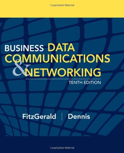 9780470055755: Business Data Communications and Networking