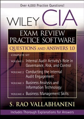 9780470056127: Wiley CIA Exam Review CD