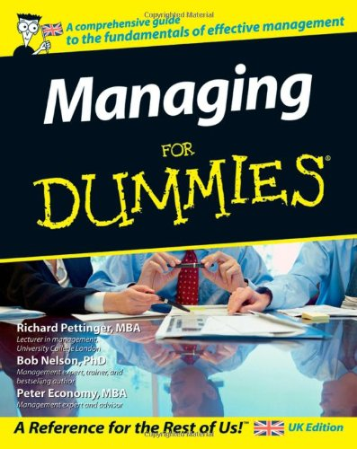 9780470056899: Managing for dummies