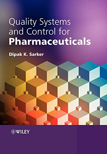 9780470056936: Quality Systems and Controls for Pharmaceuticals