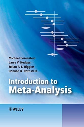 9780470057247: Introduction to Meta-Analysis