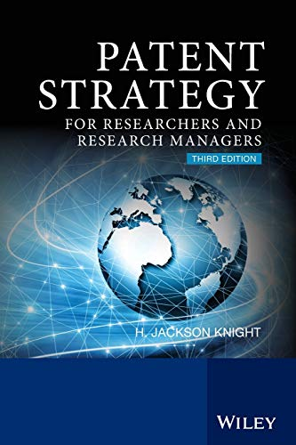 9780470057759: Patent Strategy for Researchers and Research Managers