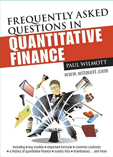 9780470058268: Frequently Asked Questions in Quantitative Finance (Wiley Series in Financial Engineering)