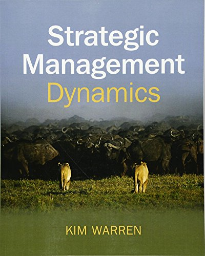 9780470060674: Strategic Management Dynamics