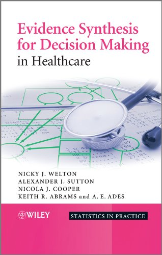 Evidence Synthesis for Decision Making in Healthcare: Alexander J. Sutton