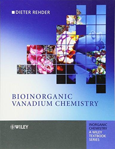 9780470065167: Bioinorganic Vanadium Chemistry (Inorganic Chemistry: A Textbook Series)