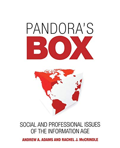 9780470065532: Pandora's Box: Social and Professional Issues of the Information Age