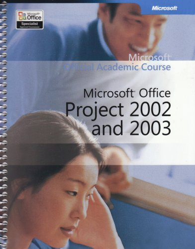 9780470066157: Microsoft Project 2002 and 2003