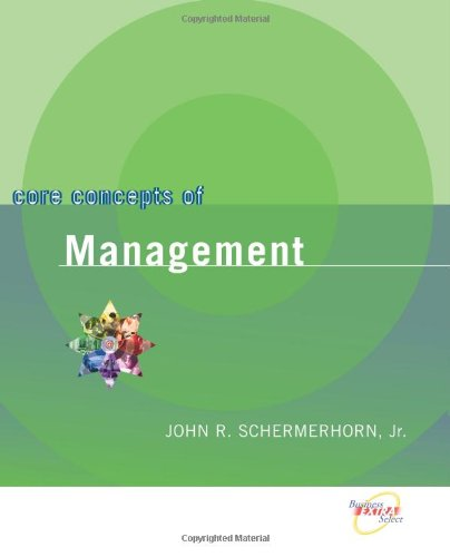 9780470067437: Core Concepts of Management: With Errata