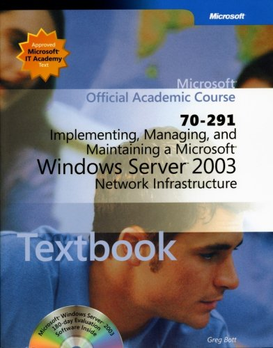 9780470068878: 70-291: Implementing, Managing, and Maintaining a Microsoft Windows Server 2003 Network Infrastructure Package
