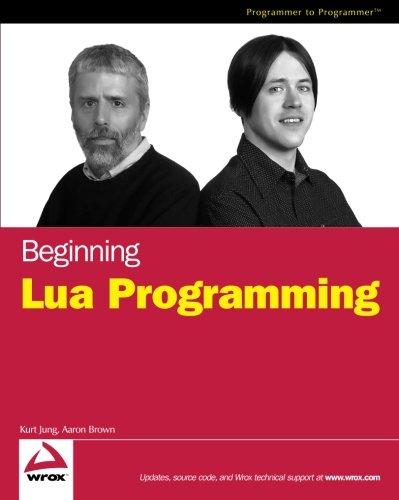 9780470069172: Beginning Lua Programming