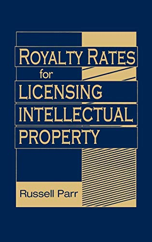 9780470069288: Royalty Rates for Licensing Intellectual Property