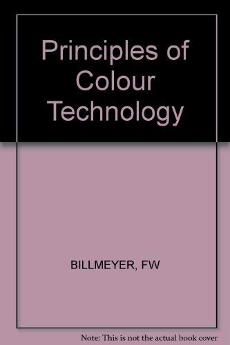 9780470072905: Principles of Colour Technology