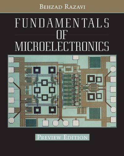 9780470072929: Fundamentals of Microelectronics: Preview Edition