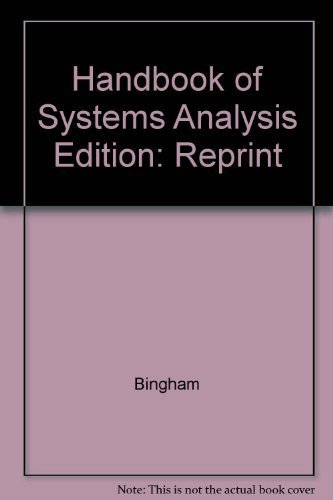 9780470073193: A handbook of systems analysis
