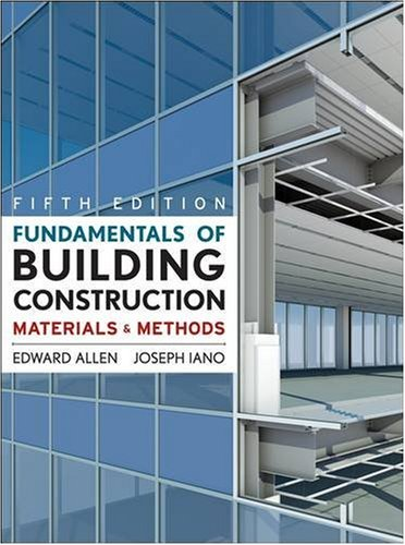 9780470074688: Fundamentals of Building Construction: Materials and Methods