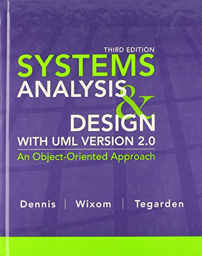 9780470074787: Systems Analysis and Design with UML