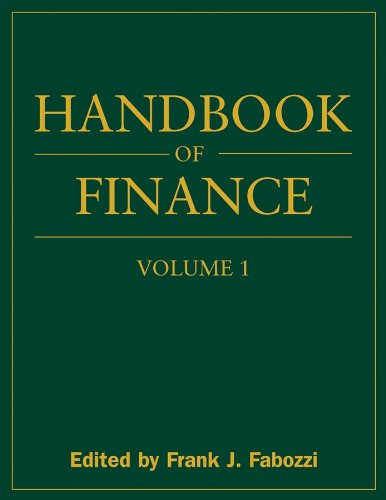 9780470078143: Handbook of Finance: Financial Markets and Instruments: 1