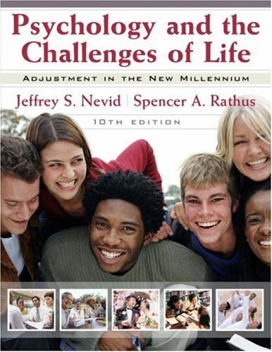 9780470079898: Psychology and the Challenges of Life: Adjustment in the New Millennium