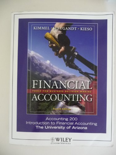 9780470079966: Financial Accounting: Tools for Business Decision Making (Accounting 200. Introduction to Financial