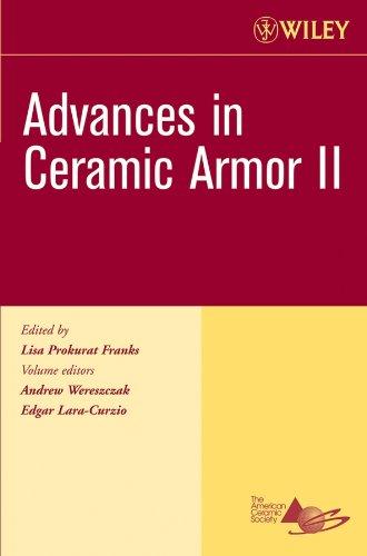 9780470080573: Advances in Ceramic Armor II (Ceramic Engineering and Science Proceedings)