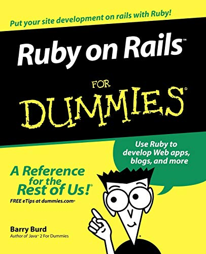 9780470081204: Ruby on Rails For Dummies