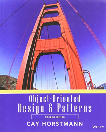 9780470081280: Object Oriented Design and Patterns: WITH Wiley Plus