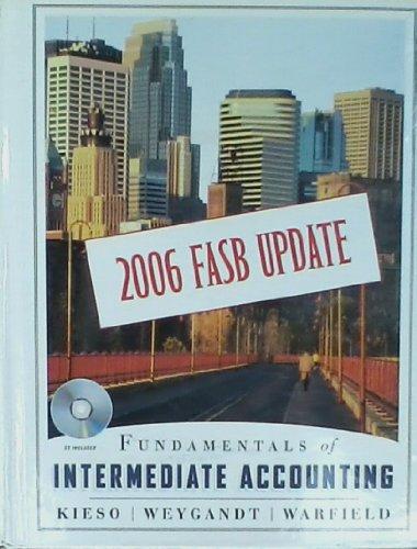 9780470082768: Fundamentals of Intermediate Accounting: 2006 FASB Update