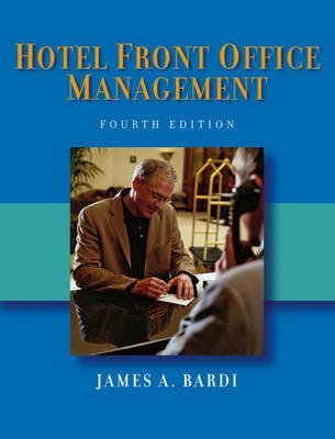 9780470082850: Bardi/Hotel Front Office Management 4th Edition + Kline/Hotel Front Office w/CD & Disk - SET