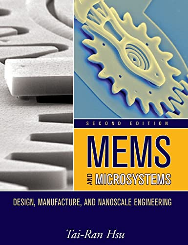 9780470083017: Mems & Microsystems: Design, Manufacture, and Nanoscale Engineering
