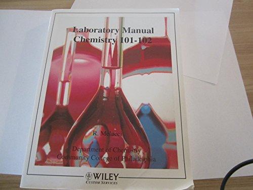 Laboratory Manual Chemistry 101-102 R. Melucci Department: R Melucci