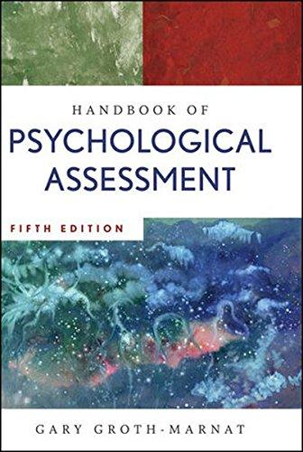 9780470083581: Handbook of Psychological Assessment