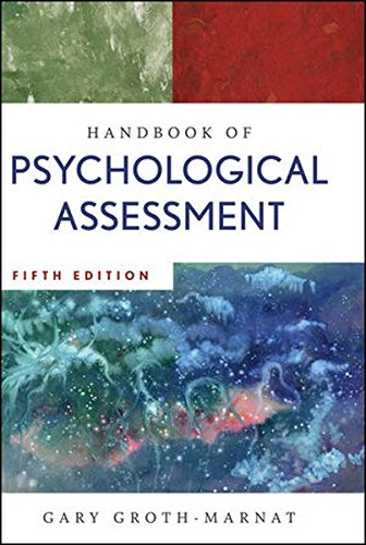 9780470083581: Handbook of Psychological Assessment