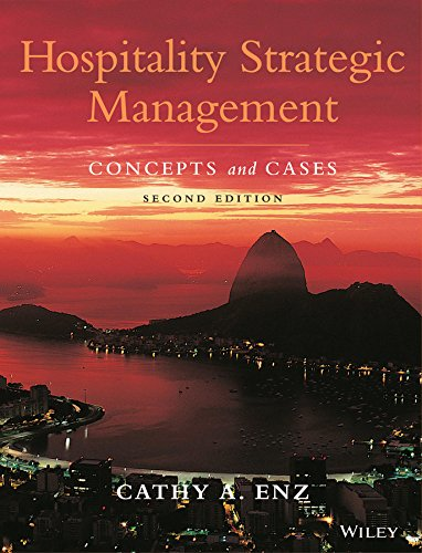 9780470083598: Hospitality Strategic Management: Concepts and Cases
