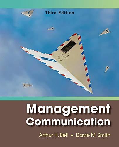 9780470084458: Management Communication